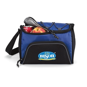 Royal Blue - Six-pack Cooler With Heat Sealed Interior And Adjustable Shoulder Strap