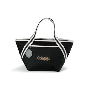 Piccolo - Black - Cooler Tote Bag With Heat Sealed Interior