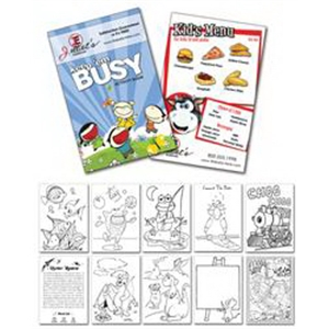 "Activity Coloring Book - 5.5"" X 8.5"" - (12-page Ge"