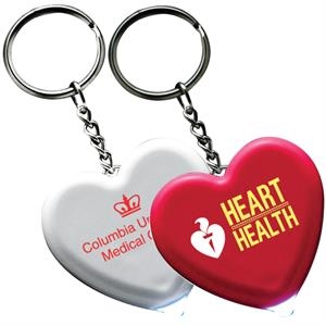 Light Up Heart Key Tag
