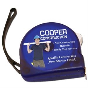 "Full Color 10' Tape Measure, 2 1/4"" X 2 1/2"""