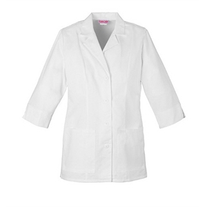 Cherokee - Sa1470 Women's Three Quarter Sleeve Lab Coat In White