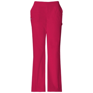 "Dickies Medical - Crimson - Sa857355 Dickies ""youtility"" Flat Front Pant - 5 Colors Available"