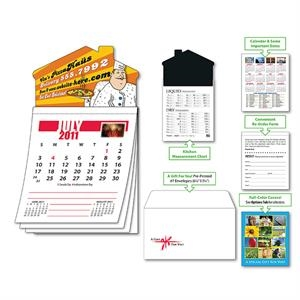 Magna-cal (tm) - Magnet - House Standard Calendar -july 2012. Available To Ship 5/15/12 Thru 8/14/12
