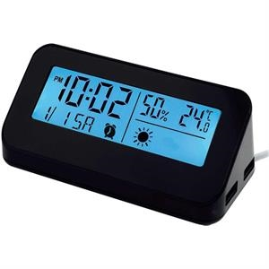Weather Station Hub Clock