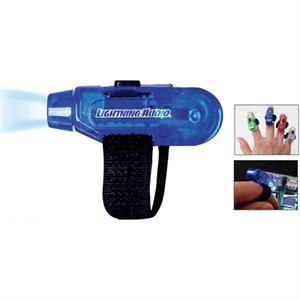 Finger Flashlight With Bright Led With Velcro Strap