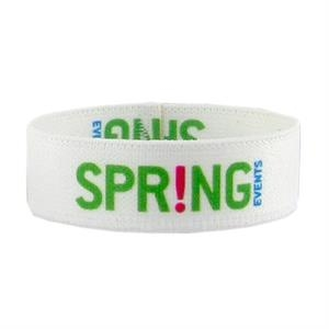 "3/4"" Dye Sublimated Stretchy Elastic Polyester Bracelet"