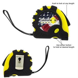 The Carpenter - 3 Working Days - Sixteen Foot Retractable Metal Tape Measure
