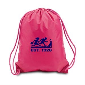 Large Drawstring Backpack, 210d Polyester