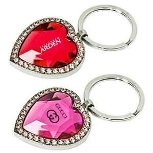 Heart Shaped Jewelry Key Chain