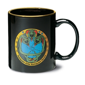 Hartford - Black - Ceramic Mug, 11 Ounces