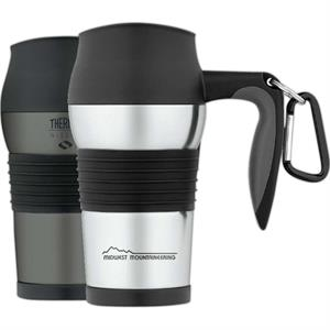 Nissan (r) - Leak-proof 14 Oz./410ml Stainless Steel Travel Mug, Non-slip Scratch-resistant Base