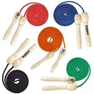 Jump Rope With Wooden Handles - E979