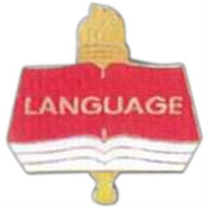 Language - Scholastic Recognition Pin With Clutch Back