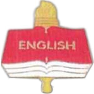 English - Scholastic Recognition Pin With Clutch Back