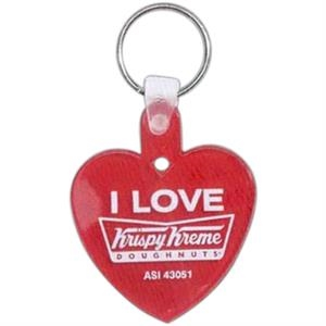 Heart - Soft Squeeze Key Tag