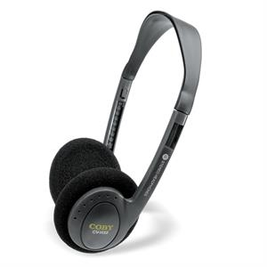 Coby (r) - Printed Lightweight Stereo Headphones