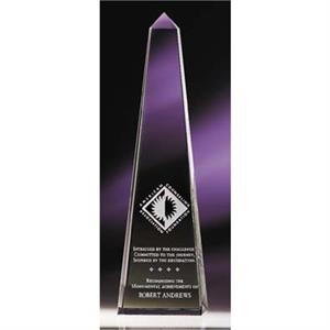 Obelisk(tm) - Large - Flawless Optic Crystal Brings Out The Beauty Of This Ancient Form Award