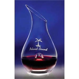 Essence - Wine Decanter Has A Punt Within The Base, Allows For Ease Of Pouring