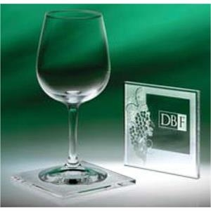 Abella - Individually Boxed Wine Coasters That Feature Our Etched Grape Design