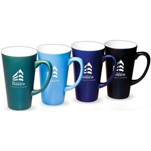 Harmony (r) - Sky Blue - Boxed Individually - Cool Shapes. Cool Colors! Throw In A Cool Matte Finish And A Large 16oz Capacity Mug