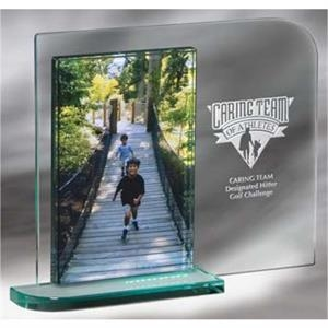 "Mainliner - 4"" X 6"" Picture Frame With Our Latest Jade Edition Featuring Soft Curves"