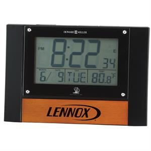 Anaston Accutech - Lcd Alarm Clock With Thermometer And Calendar