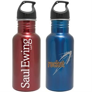Stainless Steel Water Bottle, 17 Ounce Wide Mouth
