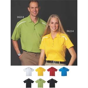 Nyos - All-in - Women's Polyester Polo Shirt With Five Button Placket And Self Fabric Collar