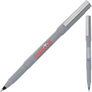 Roller (tm) - Gray - Roller Ball Pen With Micro Point
