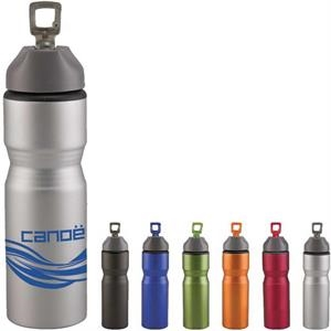 Excursion28 - Catalog 5-7 Day Production - Aluminum Sports Bottle With Unique Textured Matte Finish, 28 Oz