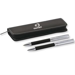 Premier - Catalog 5-7 Day Production - Executive Pen And Pencil Gift Set In Leatherette Case