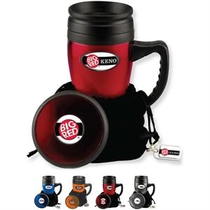 Galaxy - Catalog 5-7 Day Production - Mug Gift Set With Travel Mug, Plastic Coaster And Metal Key Ring