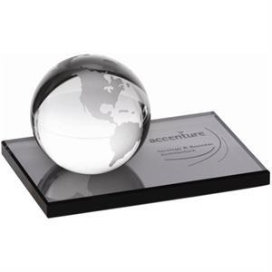 Globe on Ebony