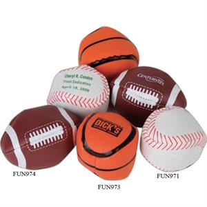 "Baseball - Sport Leather-like Vinyl 2"" Kickball. Imprinted"