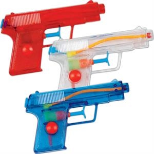 "5 1/2"" Pistol Water Gun. Imprinted"