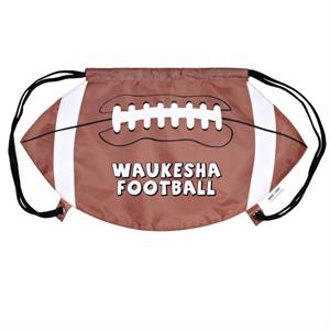 Gametime! (tm) - Cinch Top Bag/backpack, Football