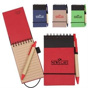 Eco/recycled Jotter Made Of Approximately 70% Recycled Materials