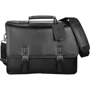 Kenneth Cole (r) - Computer Messenger Bag Made Of Genuine Top Grain Nappa Leather