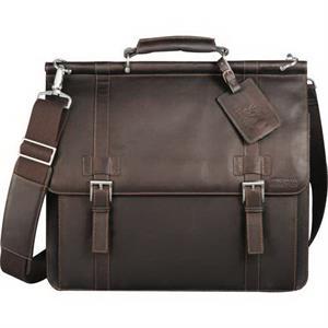Kenneth Cole® Colombian Leather Dowel Rod Messenge