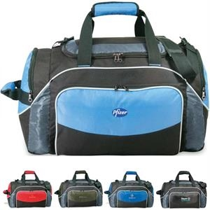 Jumper - Duffel Bag Made Of 600 Denier Polyester/420 Denier Dobby, Closeout!