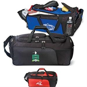 "Olympian - Duffel Bag Made Of 600 Denier Polyester/420 Denier Dobby, 23.5""w X 10""h X 11.5""d"