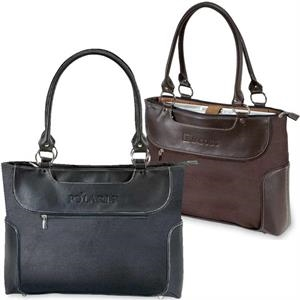 Venetian Collection - Ladies' Business Tote With Internal Padded Laptop Section