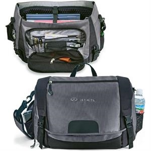 "Conqueror - Messenger Bag Made Of 1680 And 600 Denier Polyester. Holds A 17"" Laptop"