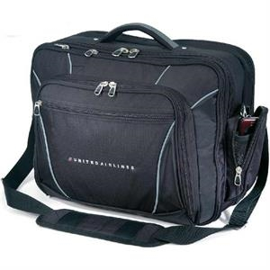 "Paragon Plus - Briefcase, Holds An 17"" Laptop, 600 Denier And 420 Denier Polyester"