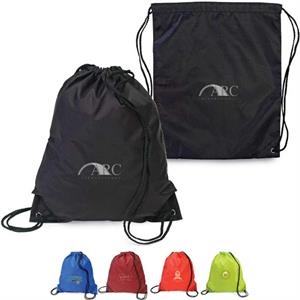 Sidekick - Drawstring Backpack Made Of 210d Nylon With Easy Access Storage Compartment
