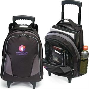 "Voyage - Rolling Backpack With 39"" Telescopic Handle System. Closeout!"