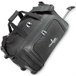 Vanguard - Rolling Duffel Bag With Hideaway Pull Handle And In-line Skate Wheels
