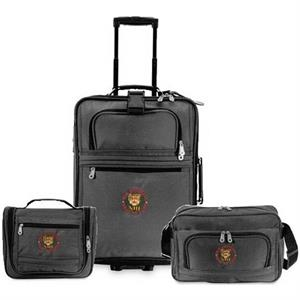Explorer - 3-piece Luggage Set; Pullman Bag, Carry-on Tote And Amenity Kit. Closeout