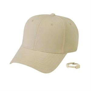 Eco-friendly Collection - Low Crown Constructed 100% Organic Cotton Canvas Cap